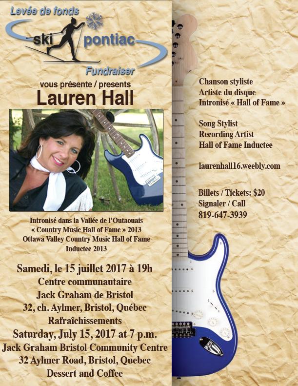 Lauren Hall poster